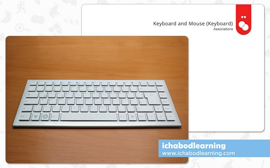 ABA Cards - Associations - Keyboard and Mouse 1