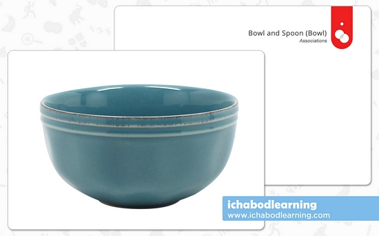 ABA Cards - Associations - Bowl and Spoon 1
