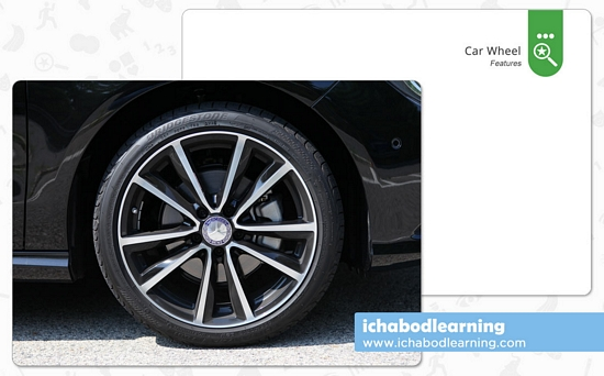 ABA Cards - Features - Car Wheel