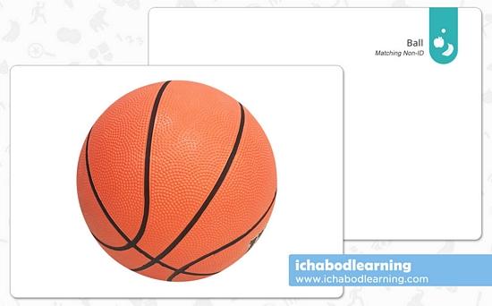 ABA Cards - Matching - Ball