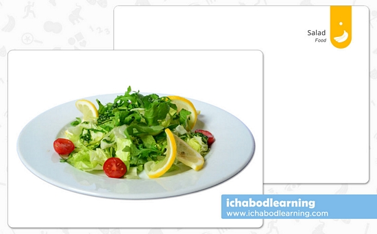 ABA Cards - Food - Salad