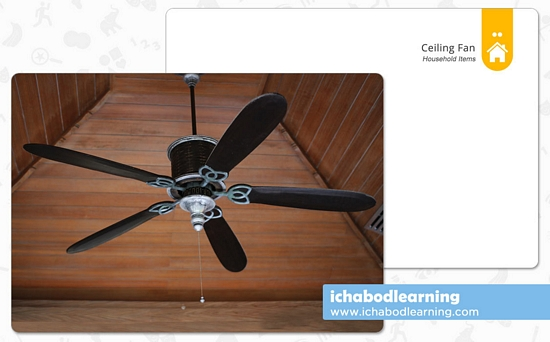 ABA Cards - Household Items - Ceiling Fan